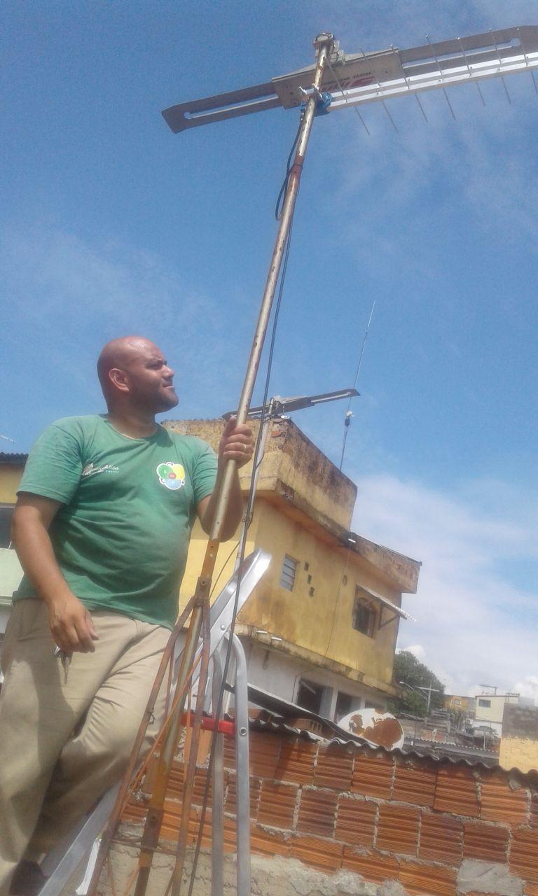 instalador de antenas em Suzano
