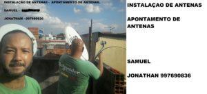 Instalador de Antenas na Ponte Rasa SP