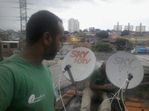 Instalador de Antenas em Jaçana SP